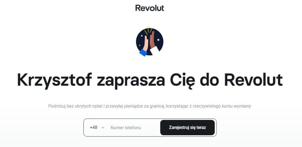 zaproszenie revolut