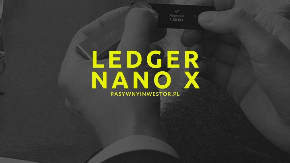 Ledger Nano X - portfel kryptowalut