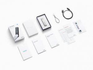 Ledger Nano X - zawartość pudełka